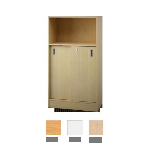 Plaukts ar bīdāmām durvīm 145,5x80 cm