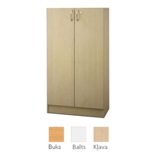 Plaukts ar durvīm 145,5x80 cm
