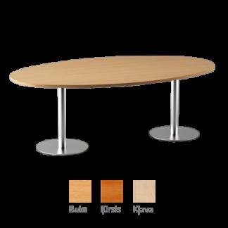 Konferenču galds ovāls 200x90 cm