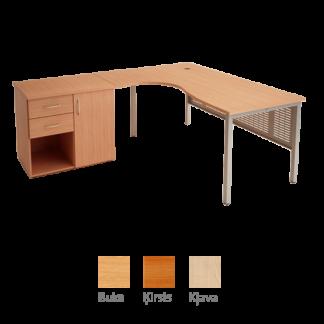 Biroja galds BILL 175x120 cm
